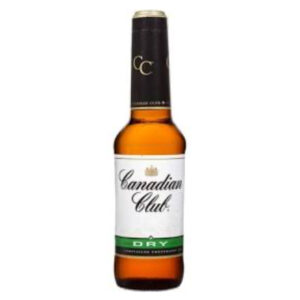 Canadian Club Whiskey & Dry 330ml