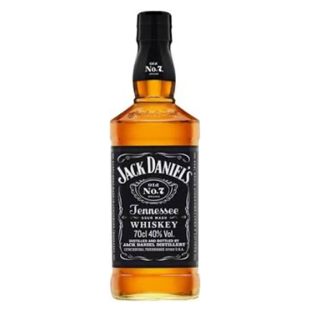 Jack Daniels Black Label Whiskey 700ml