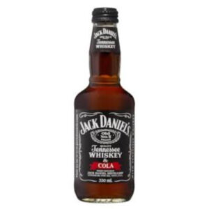 Jack Daniels Black Label Whiskey & Cola 330ml